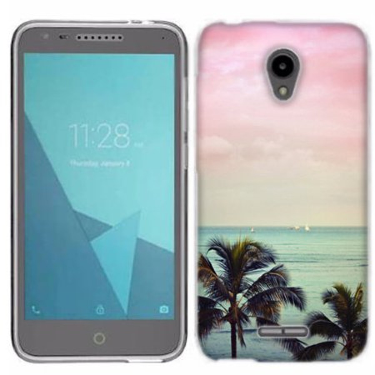low priced a74ec 63008 MUNDAZE Vacation Dreaming Case Cover For Alcatel Ideal Xcite / Verso /  Cameo X