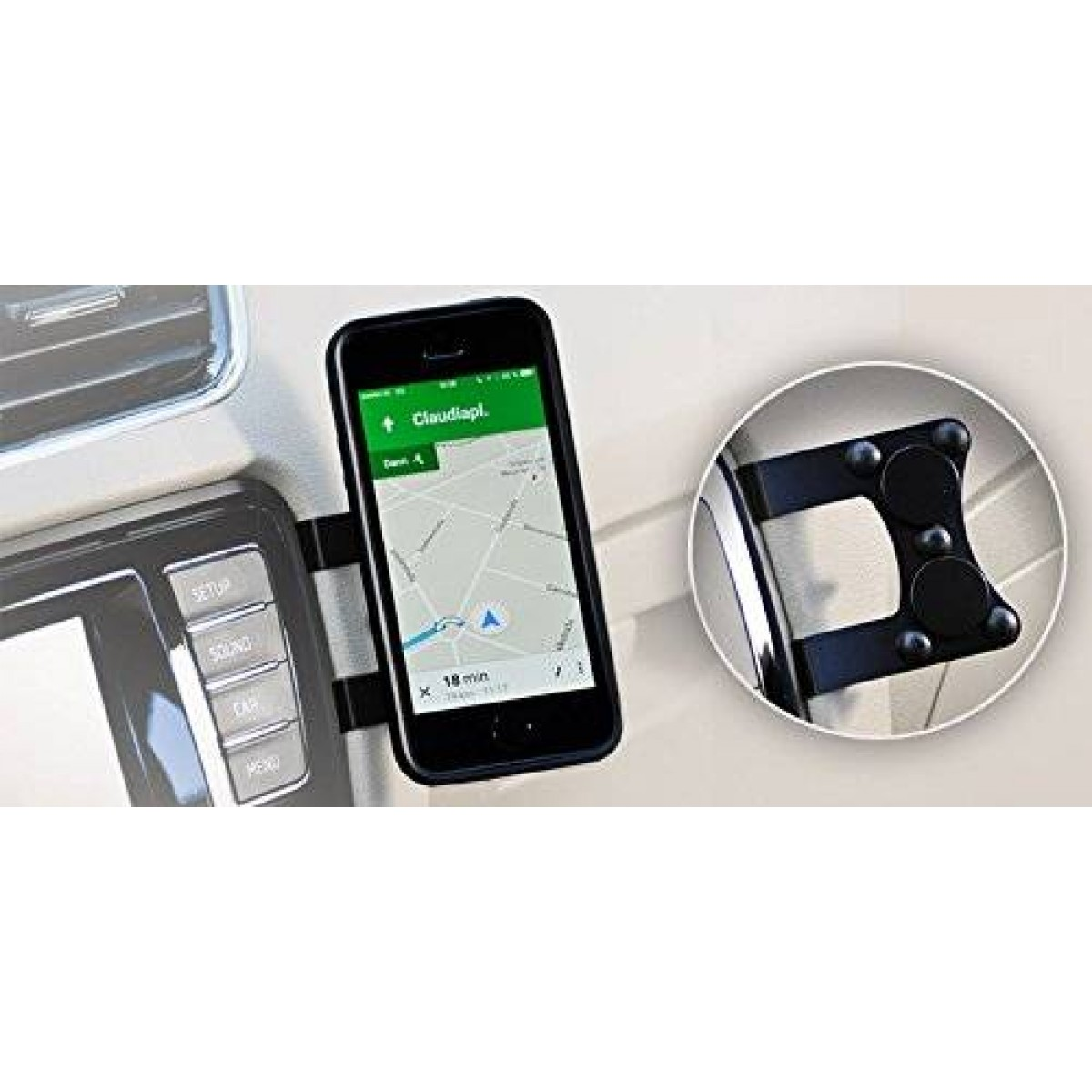 b71bebe4e29be6 Mag'n'Mount Magnetic Cell Phone Holder-no drilling, no gluing, no ...