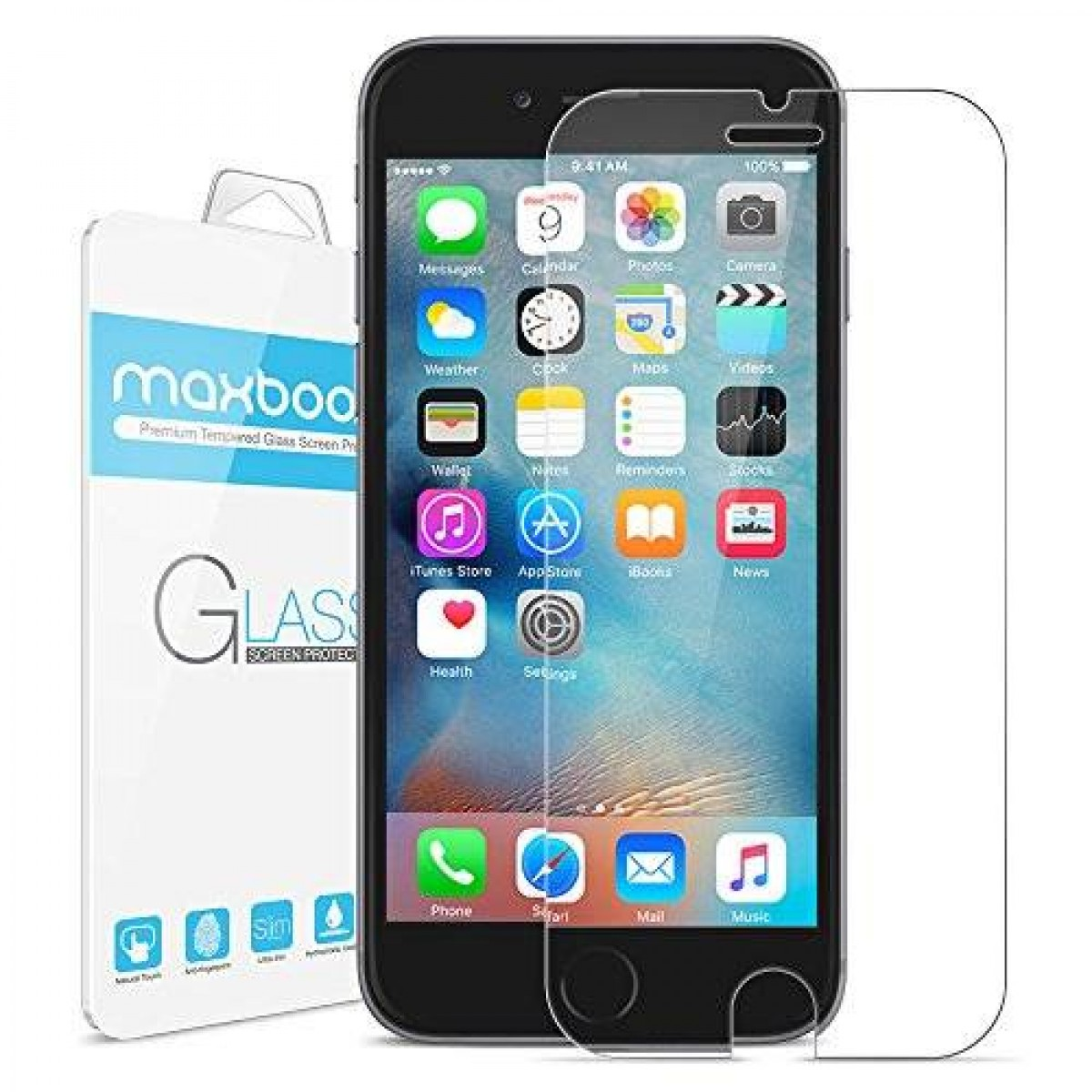 iphone 6s screen protector and case