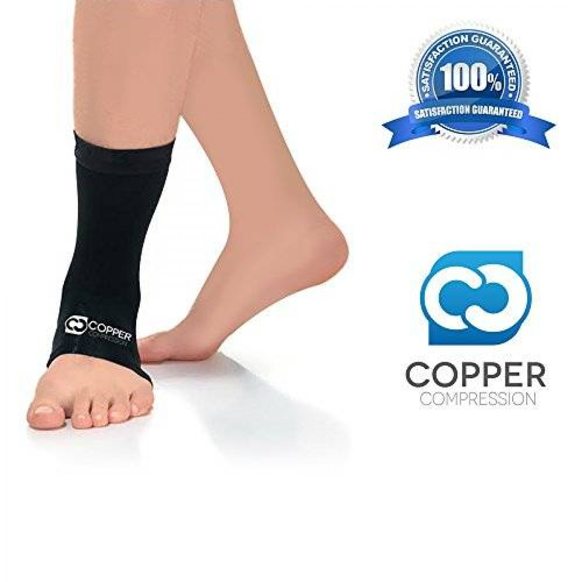 816745be18 Copper Compression Recovery Ankle Sleeve - Highest Copper ...