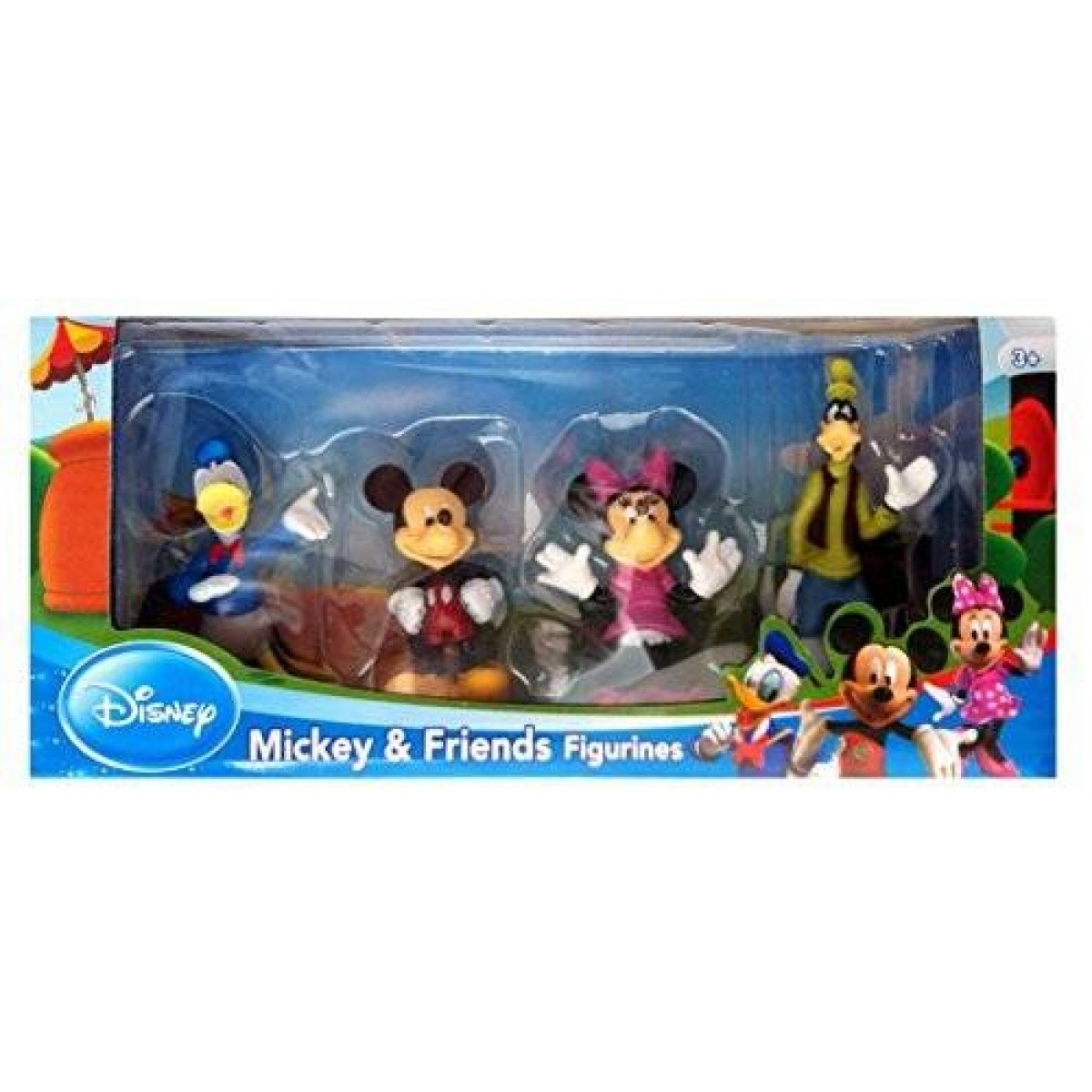 Beverly Hills Teddy Bear Company Disney Mickey and Friends Toy Figure Playset 4-Piece 5516220