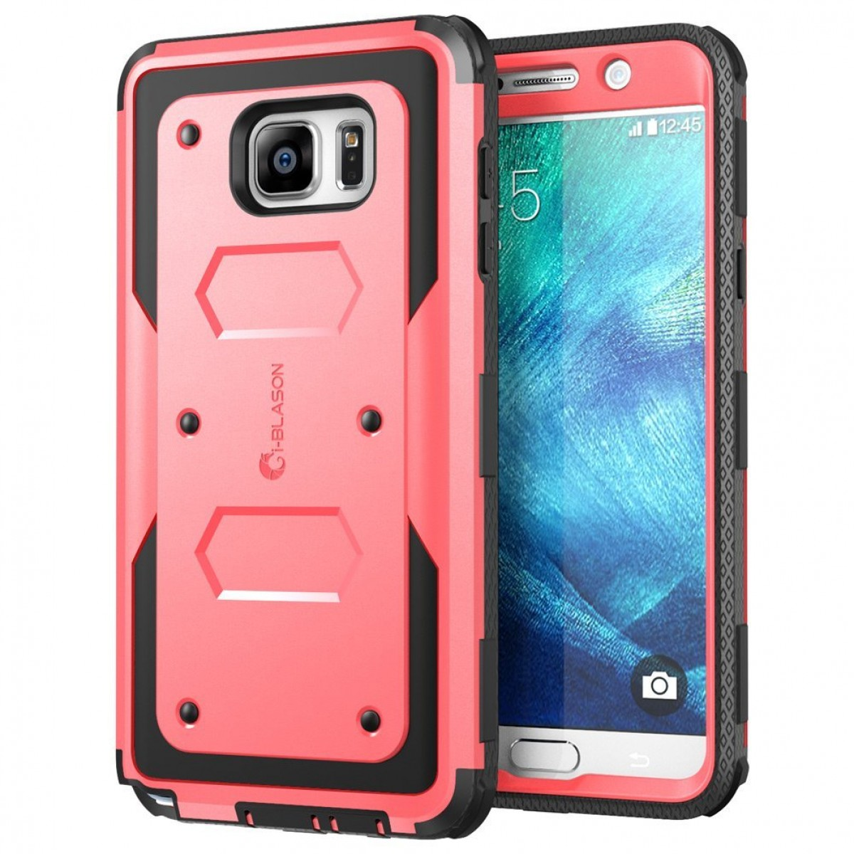 buy online 0ec05 4a4b2 Galaxy Note 5 Case, i-Blason Armorbox Dual Layer Hybrid Full-body  Protective Case For Samsung Galaxy Note 5 with Front Cover and Built-in  Screen ...