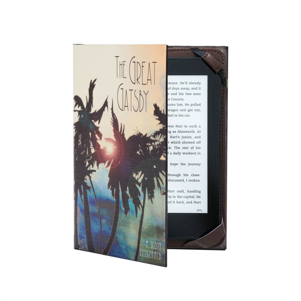 KleverCase Great Gatsby Kindle Case Classic Book Cover Range for 6