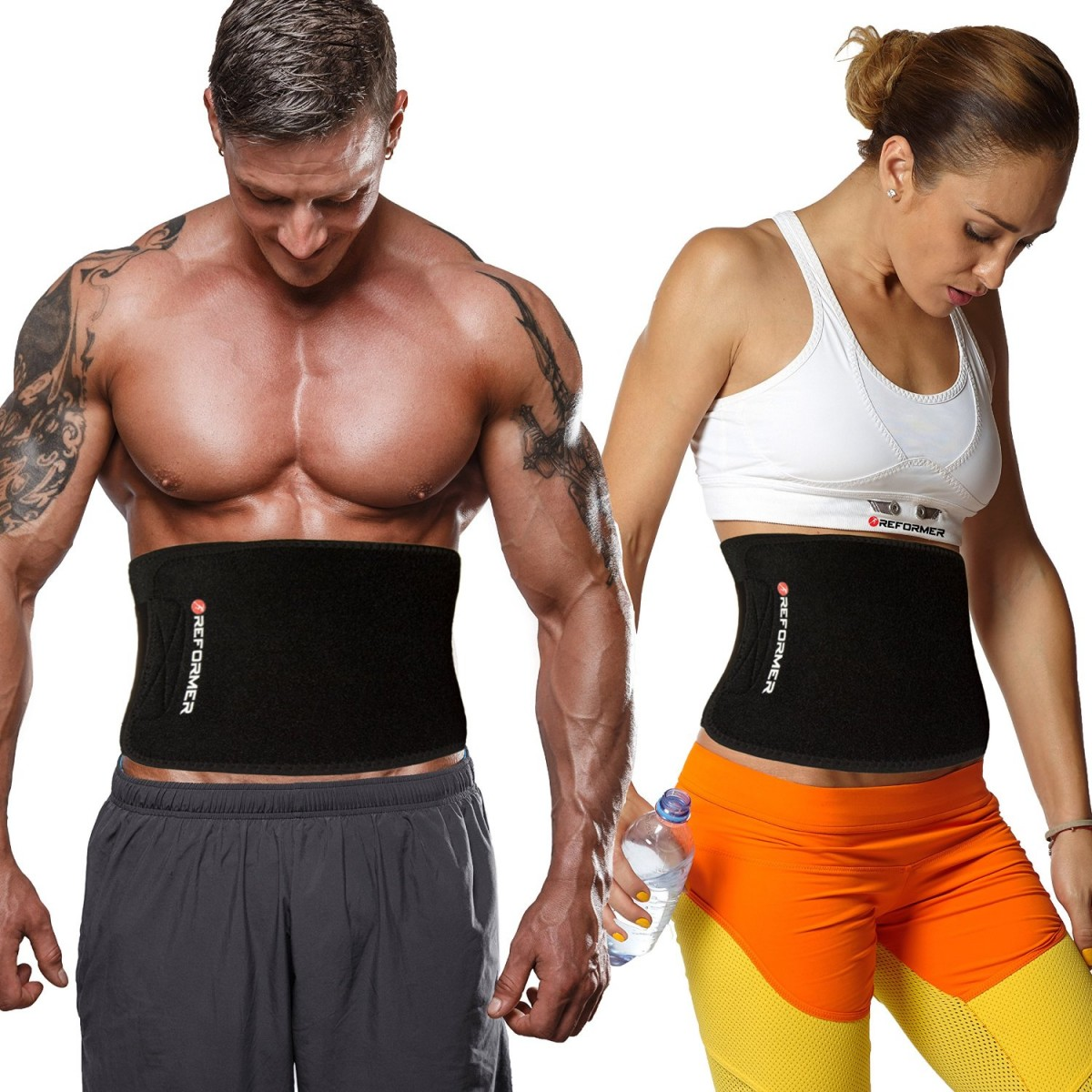 82d26ed5e5f2e Reformer Athletics Waist Trimmer Ab Belt For Faster Weight Loss