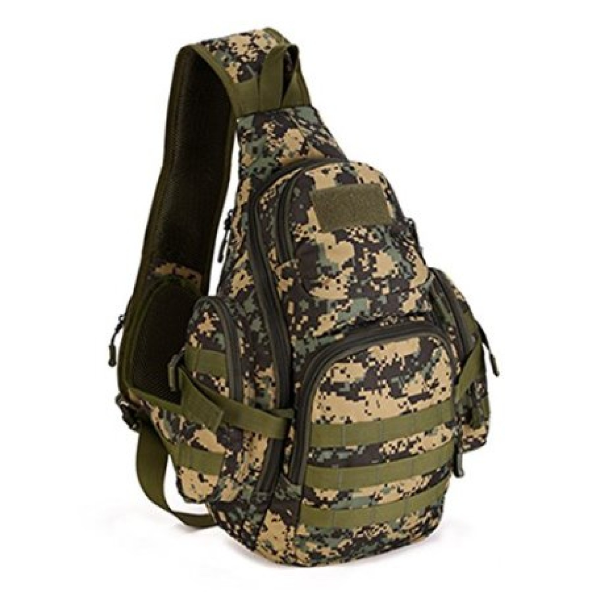 Single Sling Molle Backpack- Fenix Toulouse Handball b11b4bc55624a