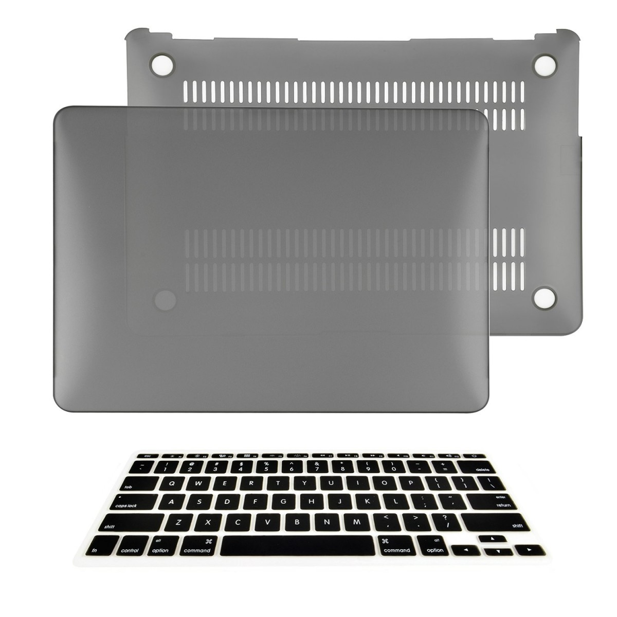2096d2a4d569 TOP CASE - 2 in 1 Bundle Deal Air 11-Inch Rubberized Hard Case Cover and  Matching Color Keyboard Cover for Macbook Air 11