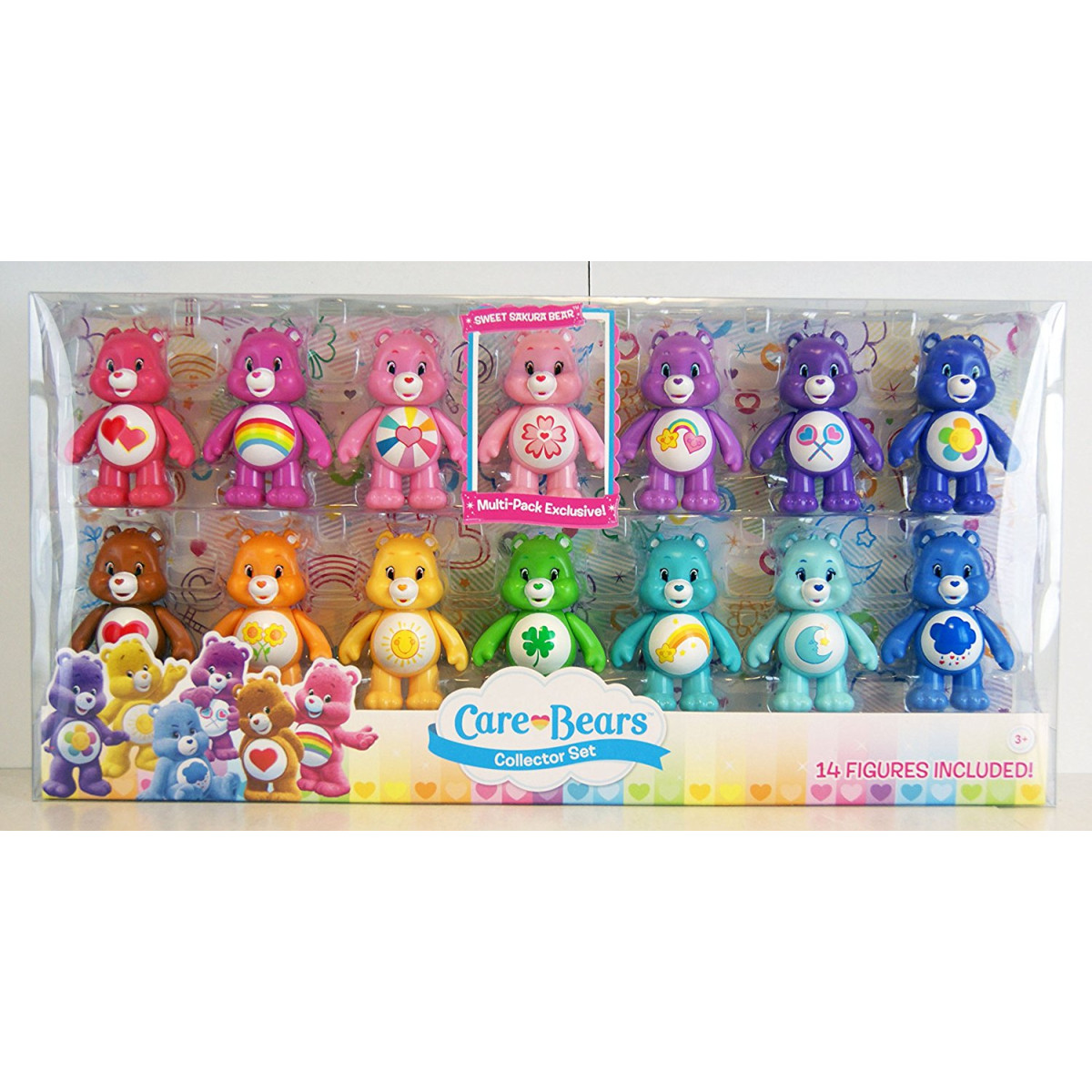 figures Toy Figure Just Play Care Bears Collector Set