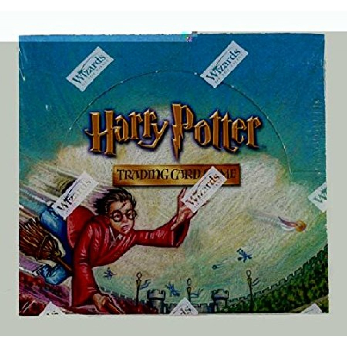 Quidditch Cup Booster Box 88429 HARRY POTTER Collectible Card Game