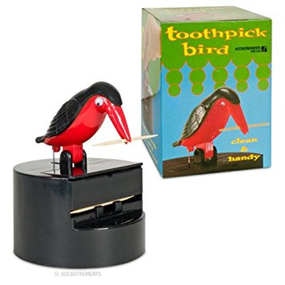 Kitchen & Home Bird Toothpick Dispenser Gag Gift Handy Clean Teeth New Accoutraments New