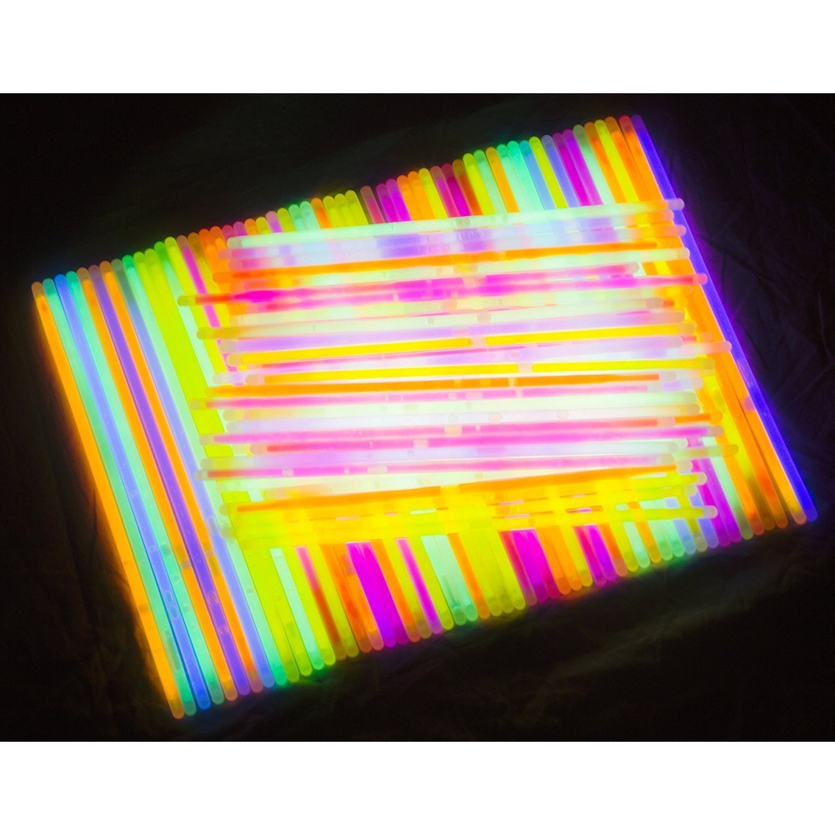 Glow Sticks Bulk 300 Count 8 Partysticks Brand Premium In The Dark Light