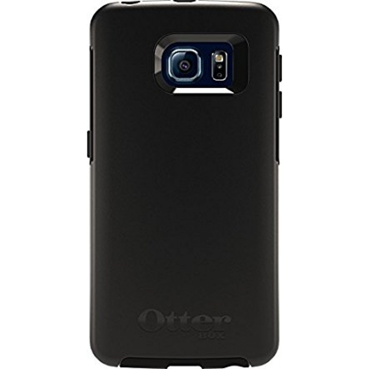 premium selection 4a321 104f3 Otterbox Symmetry Series Case for Samsung Galaxy S6 Edge - Frustration  Retail Packaging - Black