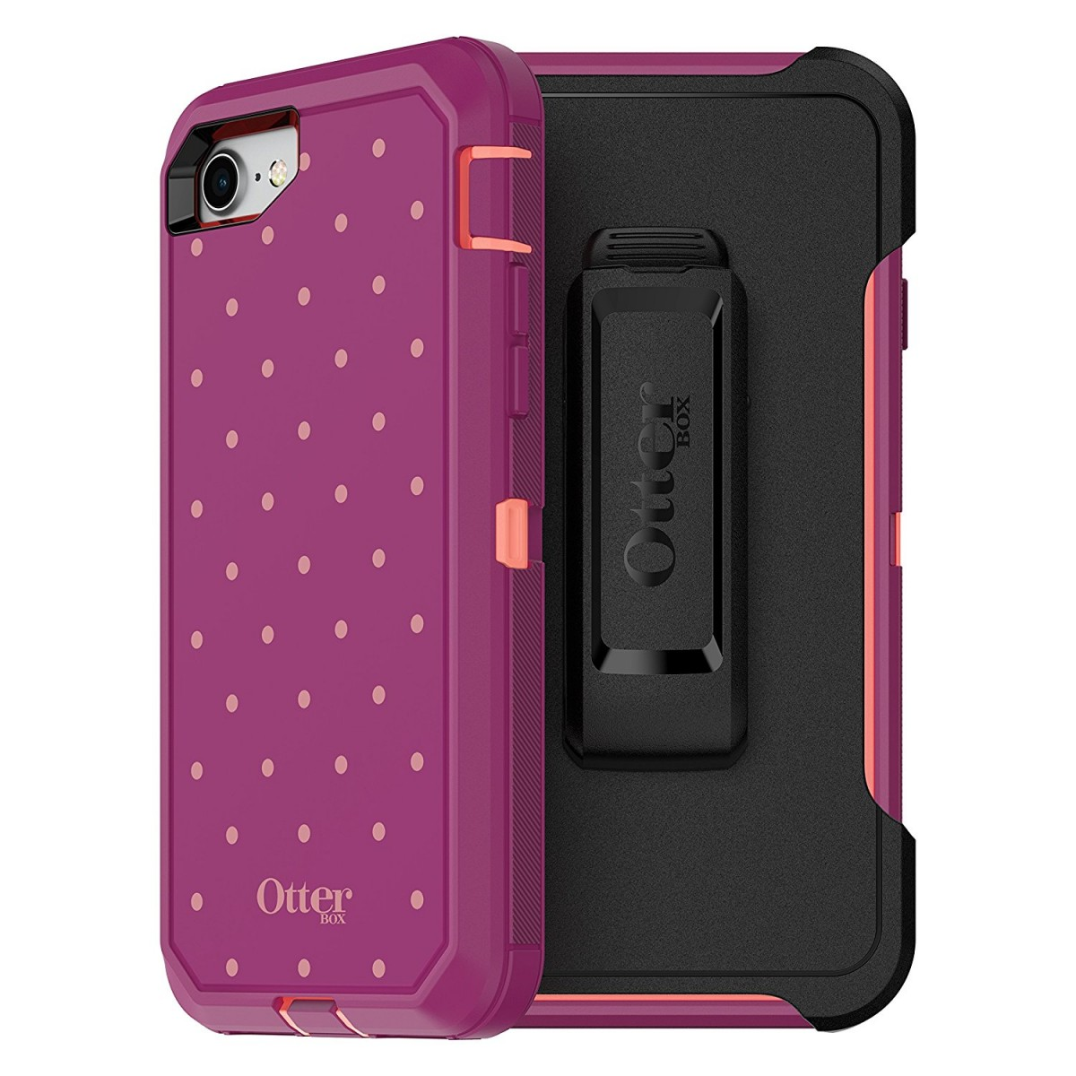 otterbox defender series case for iphone 8 and iphone 7 not plus frustration free packaging