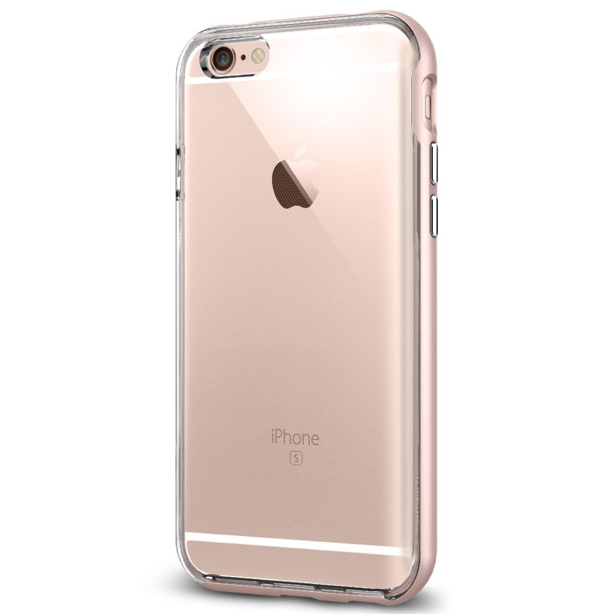 online store 32313 57dc0 Spigen Neo Hybrid EX iPhone 6S Case with Flexible Inner Bumper and  Reinforced Hard Frame for iPhone 6S / iPhone 6 - Rose Gold