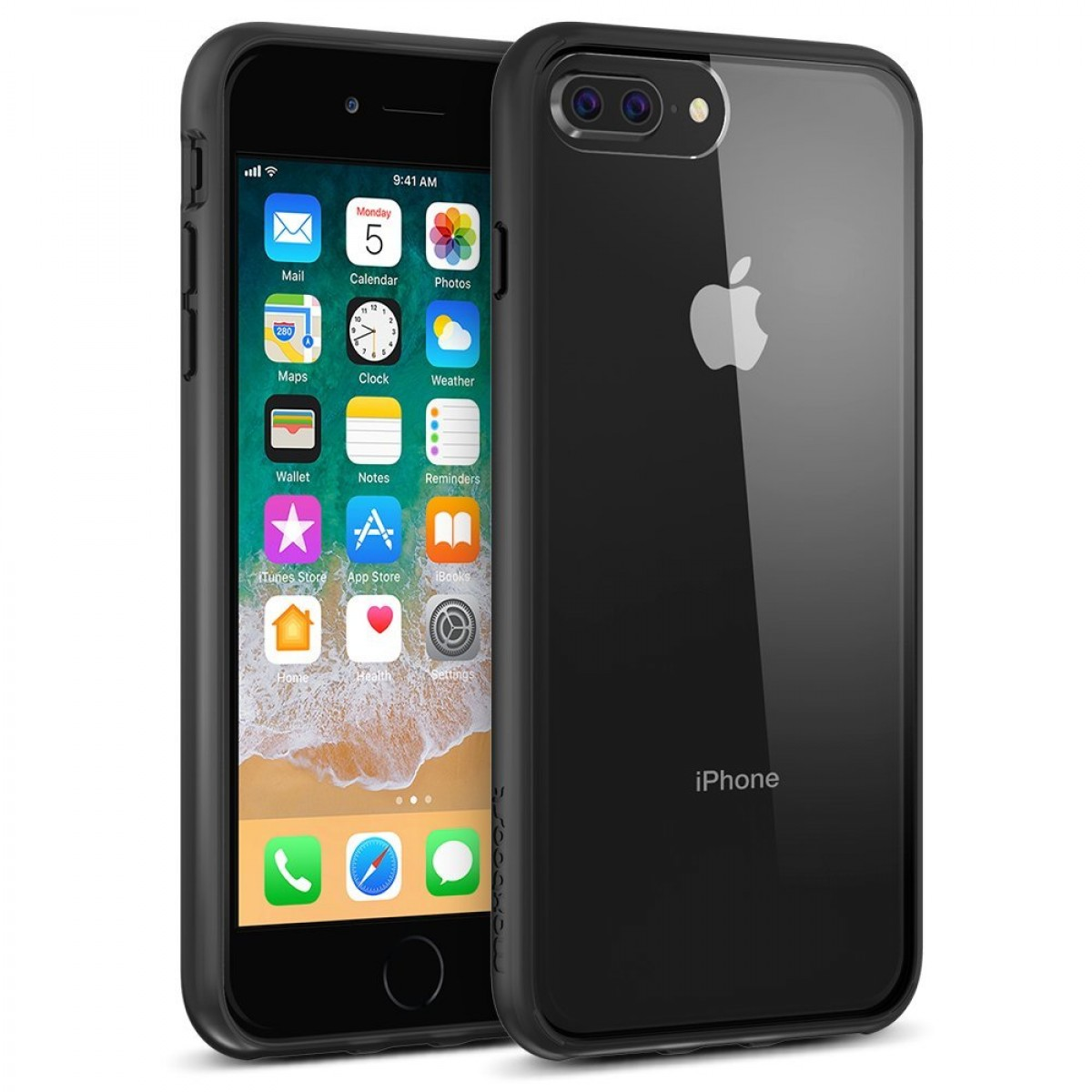 best service 6ce9f d34c0 Maxboost HyperPro iPhone 8 Plus Case / iPhone 7 Plus Case [GXD-Gel Drop  Protection] Heavy Duty Hybrid Cover Apple iPhone 8 Plus,7 Plus,6s Plus,6  Plus ...