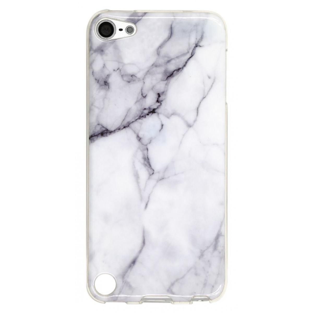 innovative design bc554 2c2dc Ipod Touch 5 Case, Ipod Touch 6 Case, IiEXCEL Marble White Pattern Soft  Flexible TPU Slim Fit Case for Ipod Touch 5 and Touch 6 ( Color 15 )