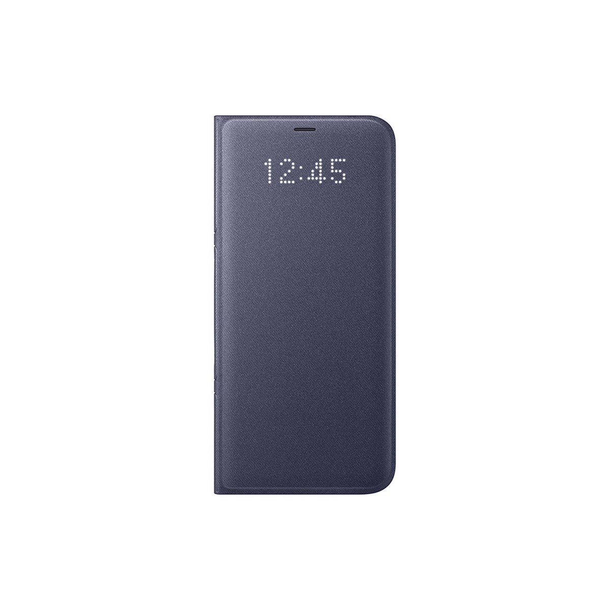 finest selection e8ae2 c83ff Samsung Galaxy S8+ LED View Wallet Case, Orchid Grey