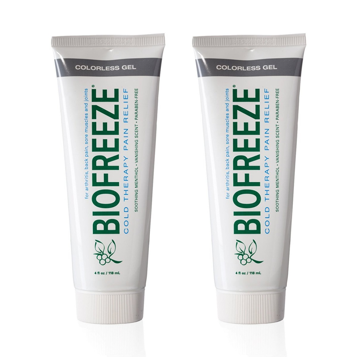 Biofreeze Pain Relief Gel for Arthritis, 4 oz  Cold Topical Analgesic, Fast  Acting Cooling Pain Reliever for Muscle, Joint, and Back Pain, Works Like