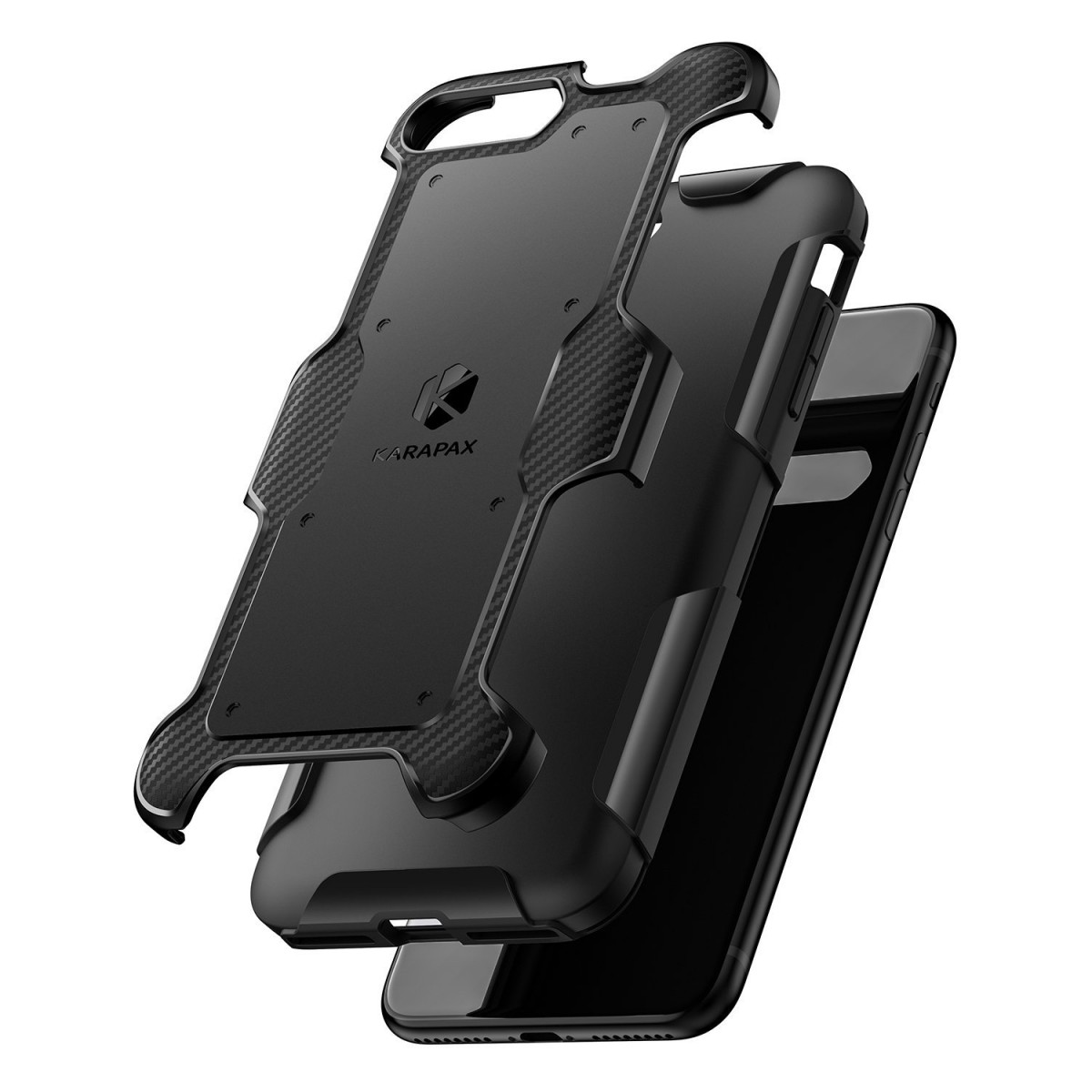 hot sales e3477 8a193 iPhone 8 Plus Case, iPhone 7 Plus Case, Anker Shield+ Case Dual Layer Heavy  Duty Protective Military-Grade Certified Protection [Support Wireless ...