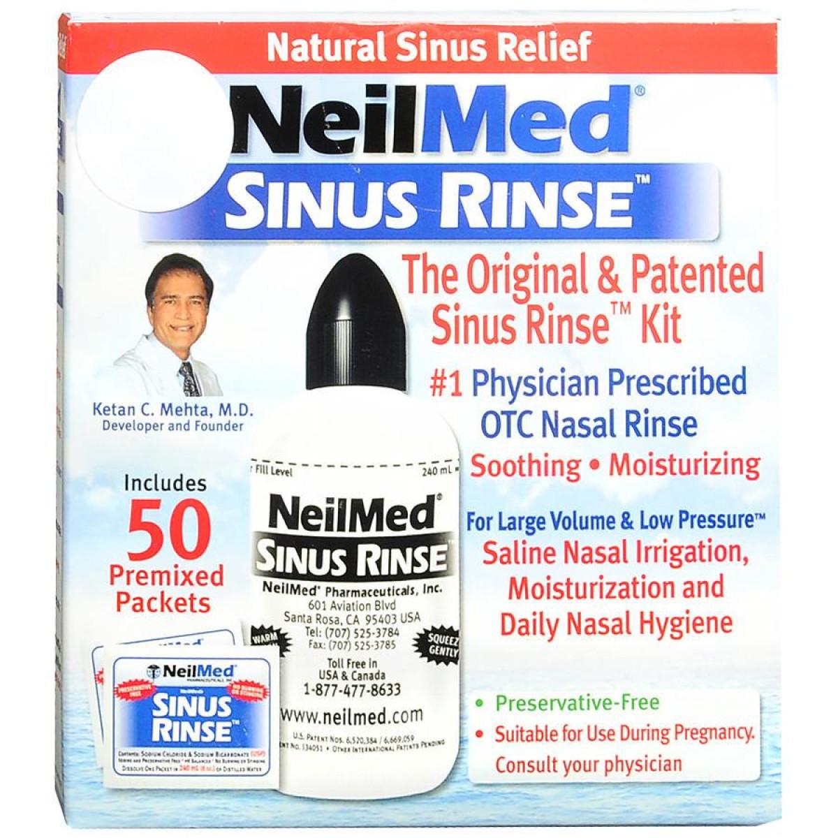 NeilMed Sinus Rinse Original Sinus Kit