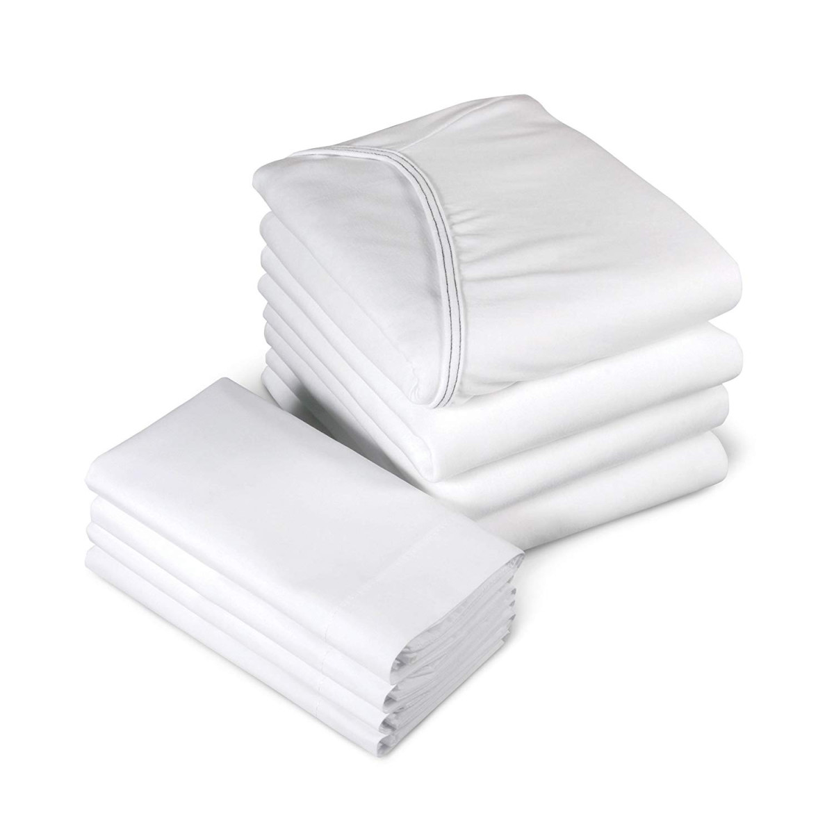 Medline Bed Premium Soft Span Jersey Knit Fitted Contour Hospital Sheet