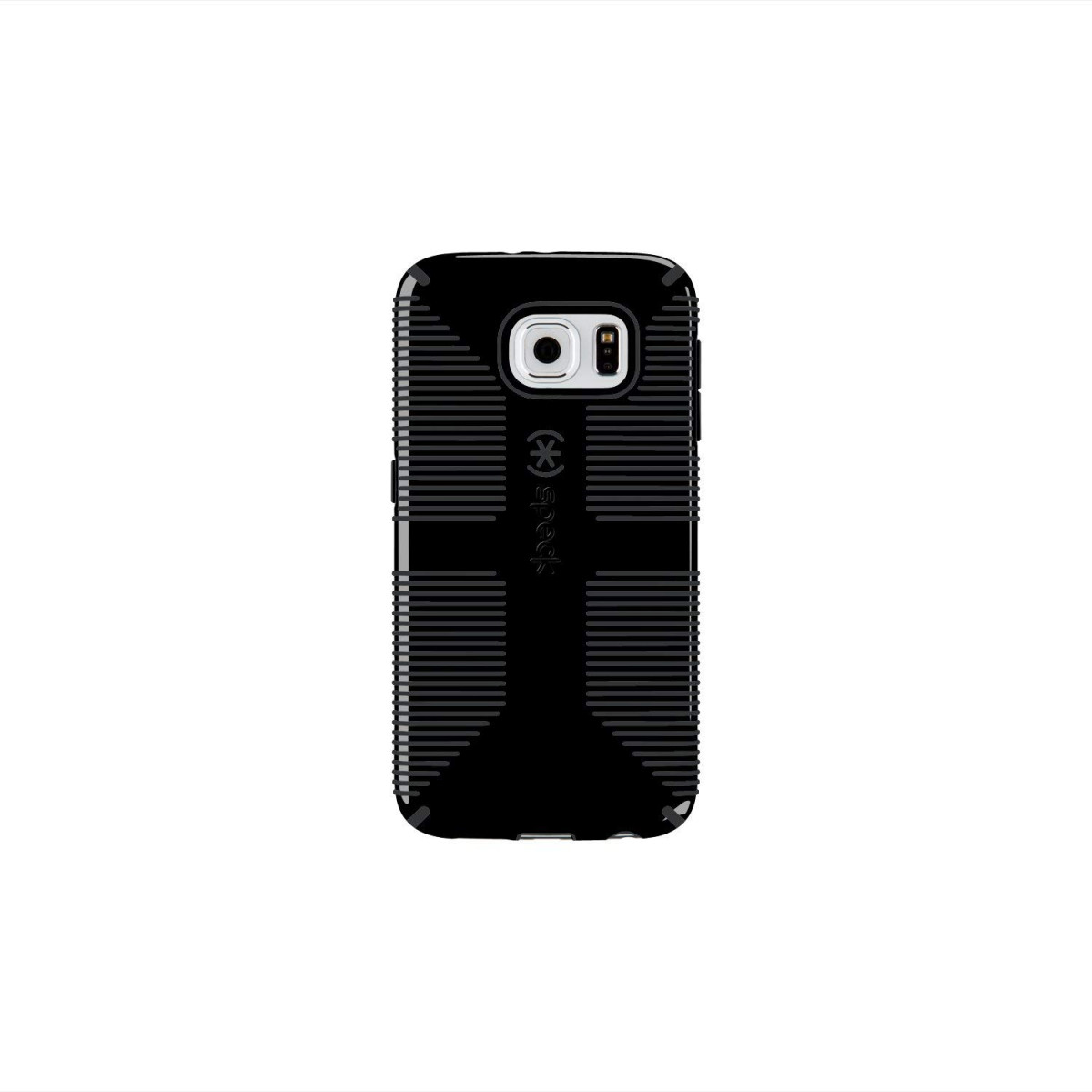 new product e35d1 71014 Speck Products CandyShell Grip Case for Samsung Galaxy S6 - Retail  Packaging - Black/Slate Grey