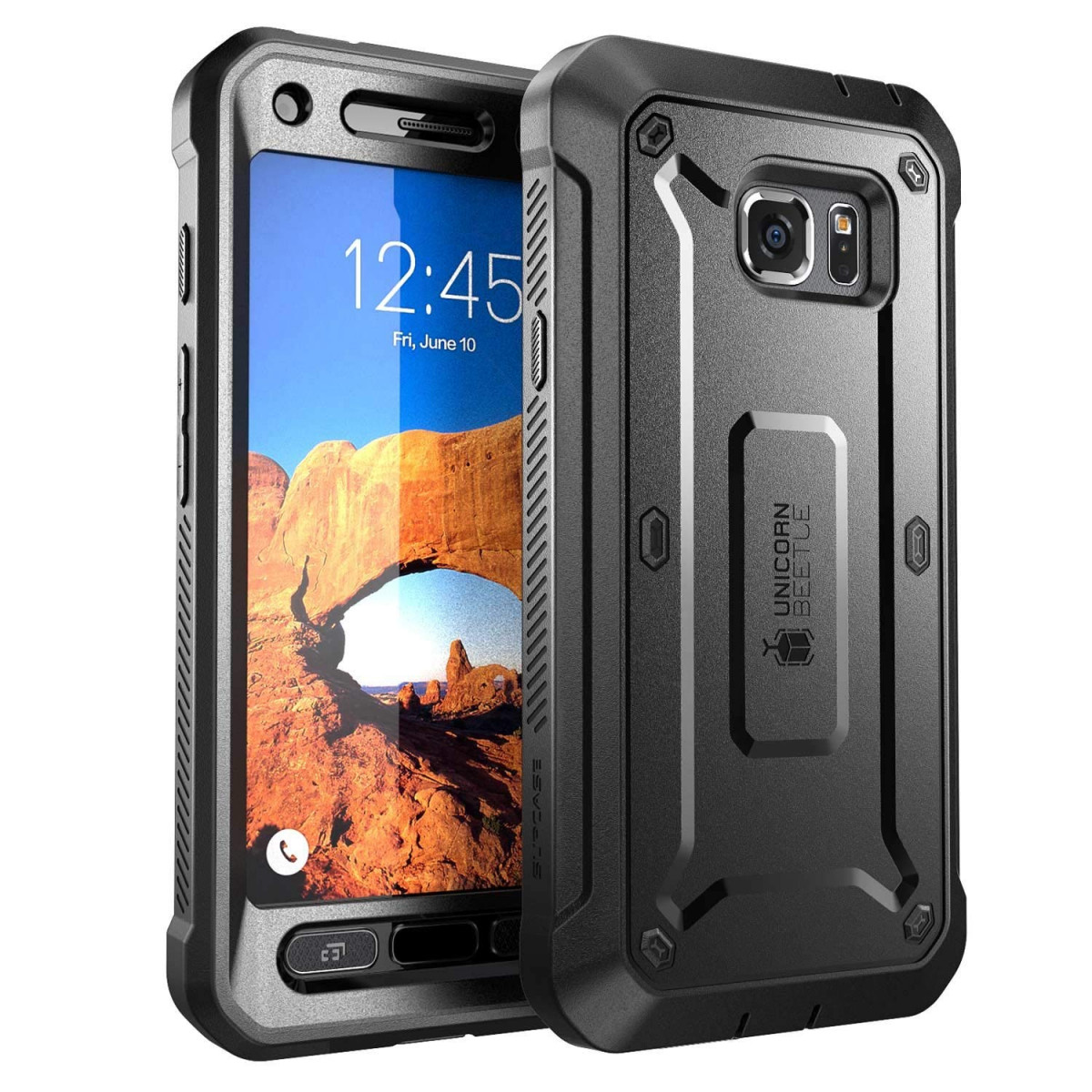 Galaxy S7 Active Case, SUPCASE Full-Body Rugged Holster Case with Built-in  Screen Protector for Samsung Galaxy S7 Active, Unicorn Beetle PRO Series