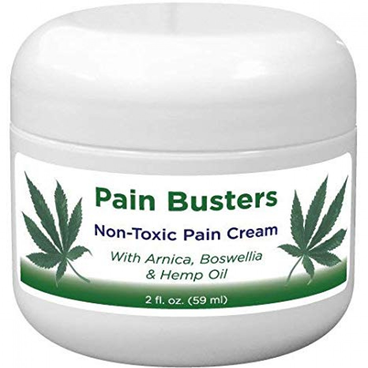 Pain Busters Arnica, MSM and Hemp Oil Pain Relief Cream