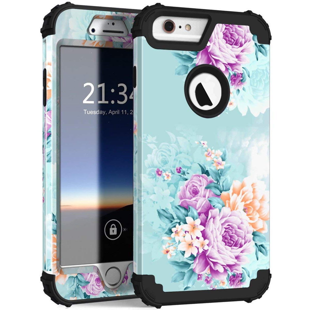 Iphone 6 Plus Case Iphone 6s Plus Case Pixiu Unique Three Layer