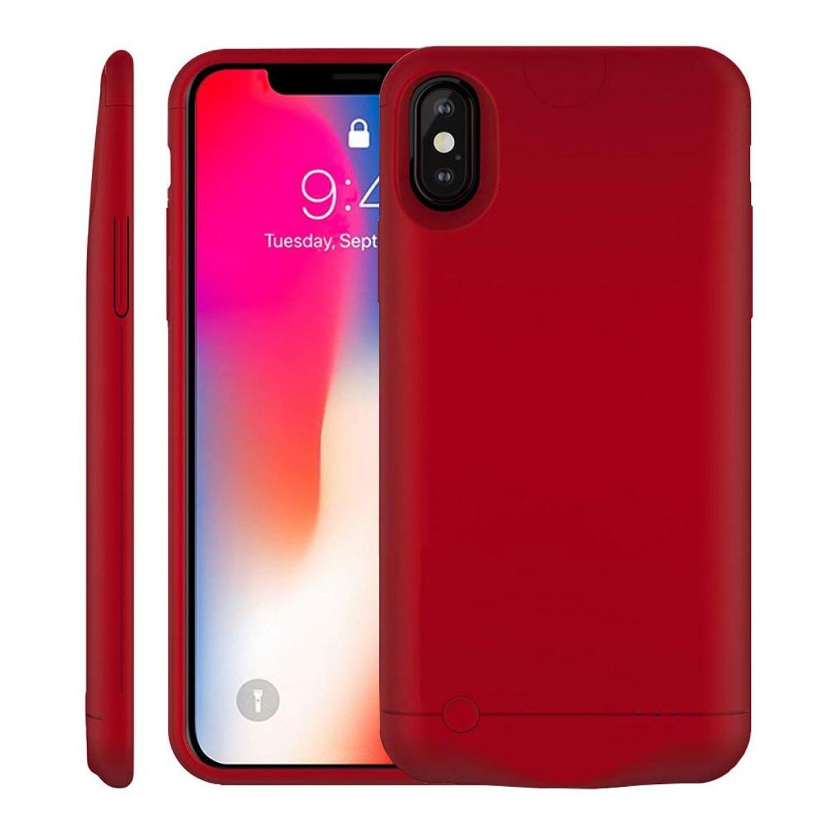 new product c260e 5e97c iPhone X/XS Battery Case, MAXBEAR 5200mAh Ultra Slim Portable Extended  Backup Battery Charger Case Charging Case Battery Pack for iPhone X/XS,  iPhone ...