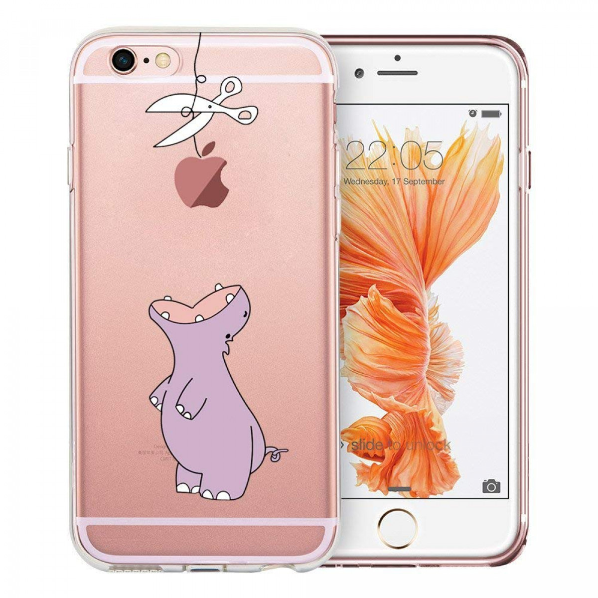 huge selection of 4f840 bcaf8 iPhone 6 Case, iPhone 6S Case, Doramifer Funny Series Protective Case  [Anti-Slip] [Good Grip] with Aesthetic 3D Print Soft Back Cover for iPhone  6/6S ...