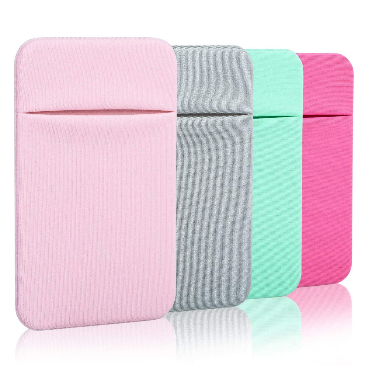 promo code df887 e1824 Costyle Slim Credit Card Holder for Back of Phone Cell Phone Stick On Wallet