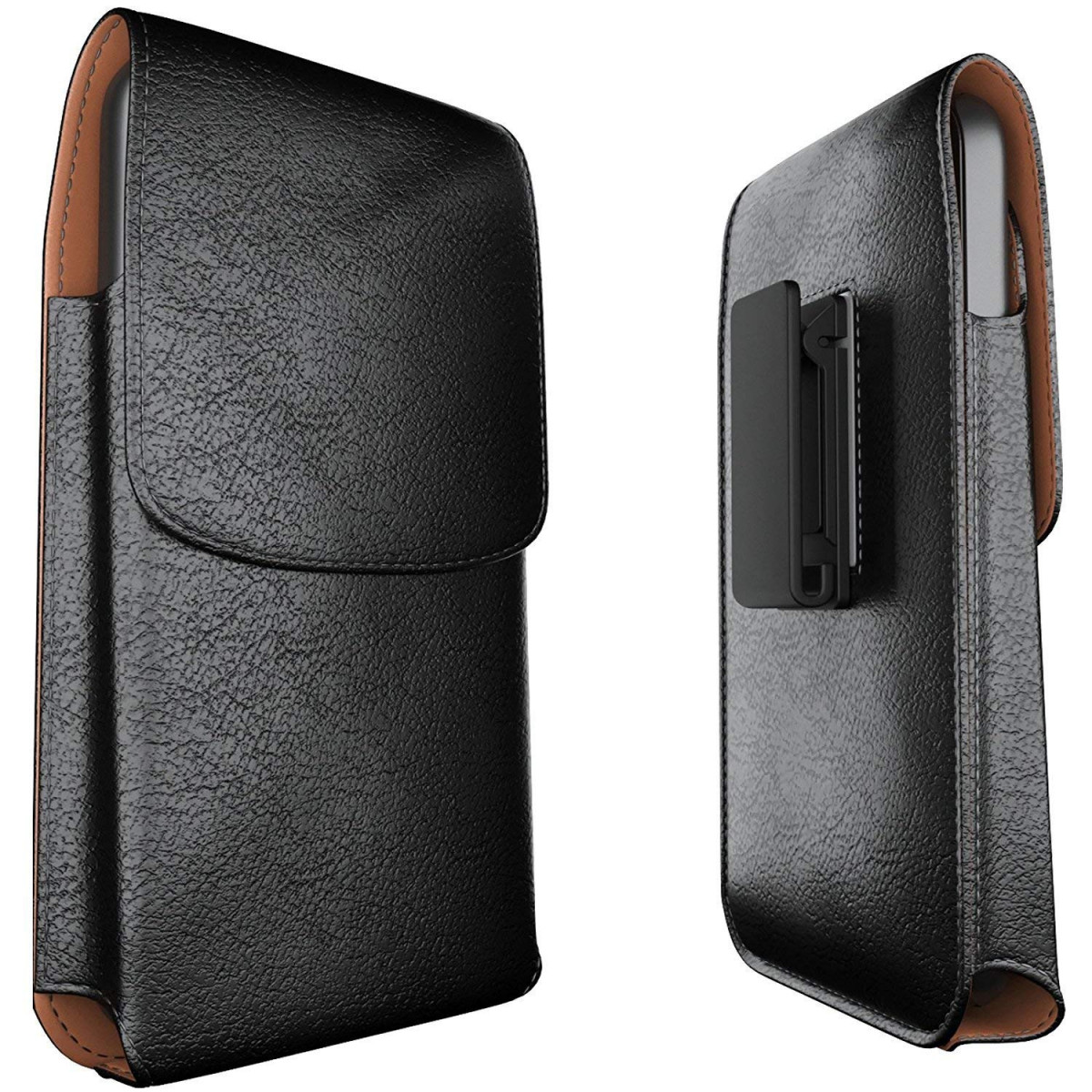 outlet store a1bc8 4185f Meilib Galaxy Note 8 Belt Case Note 9 Belt Clip Case - Leather Pouch Belt  Holster Case with Clip for Samsung Galaxy Note 9 / Note 8 (Fits Phone  w/Thin ...