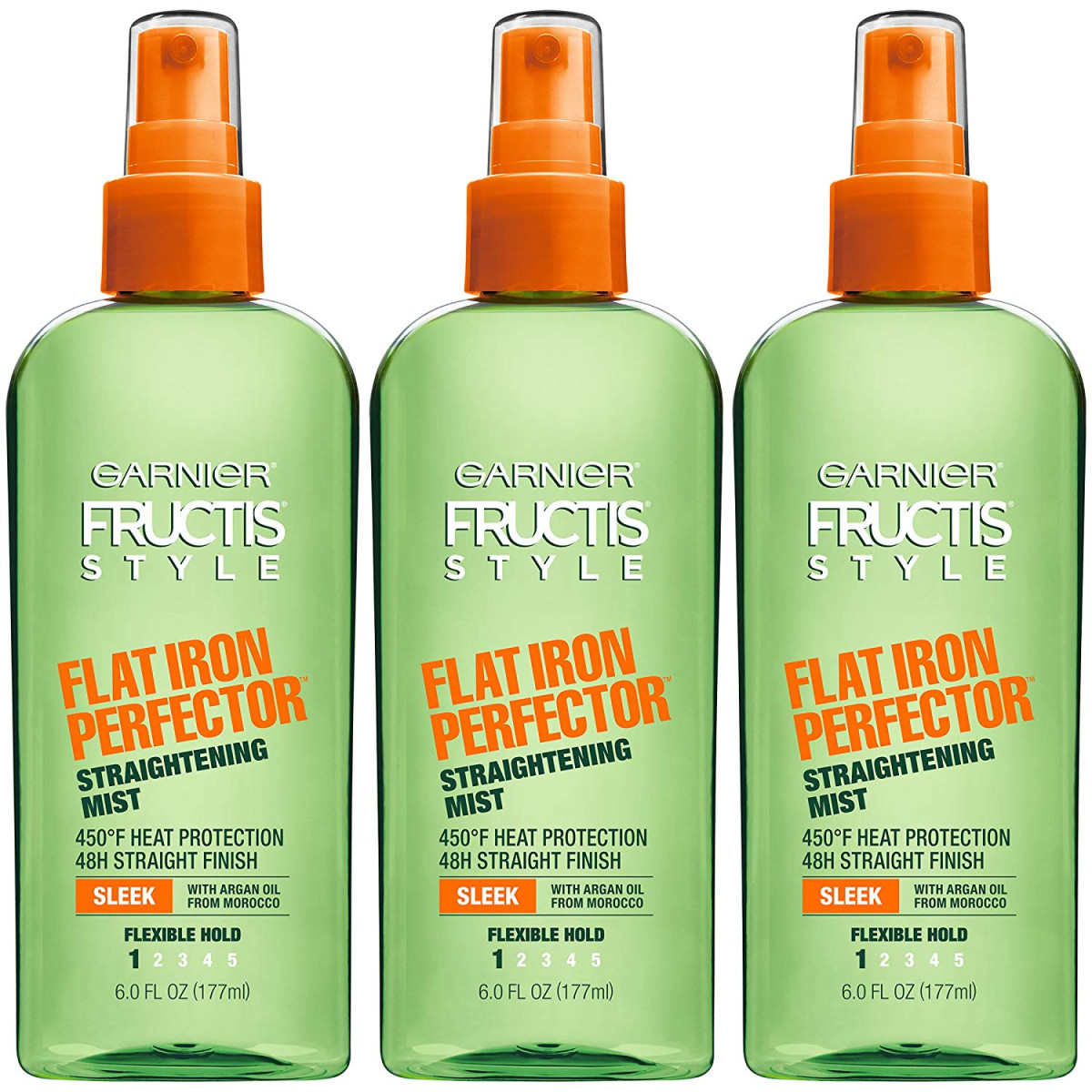 Garnier Hair Care Fructis Style Flat Iron Perfector Straightening Mist, 3 Count