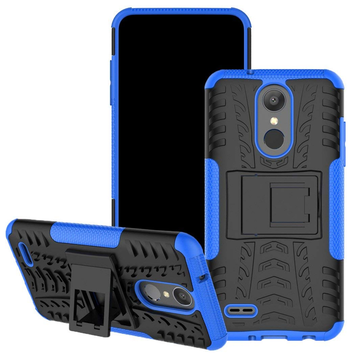 new product db16a 32c16 LG Aristo 2 Case, for LG Tribute Dynasty/LG Zone 4/LG Fortune 2/LG K8  2018/LG K8+ Case, Viodolge [Shockproof] Hybrid Tough Rugged Dual Layer ...