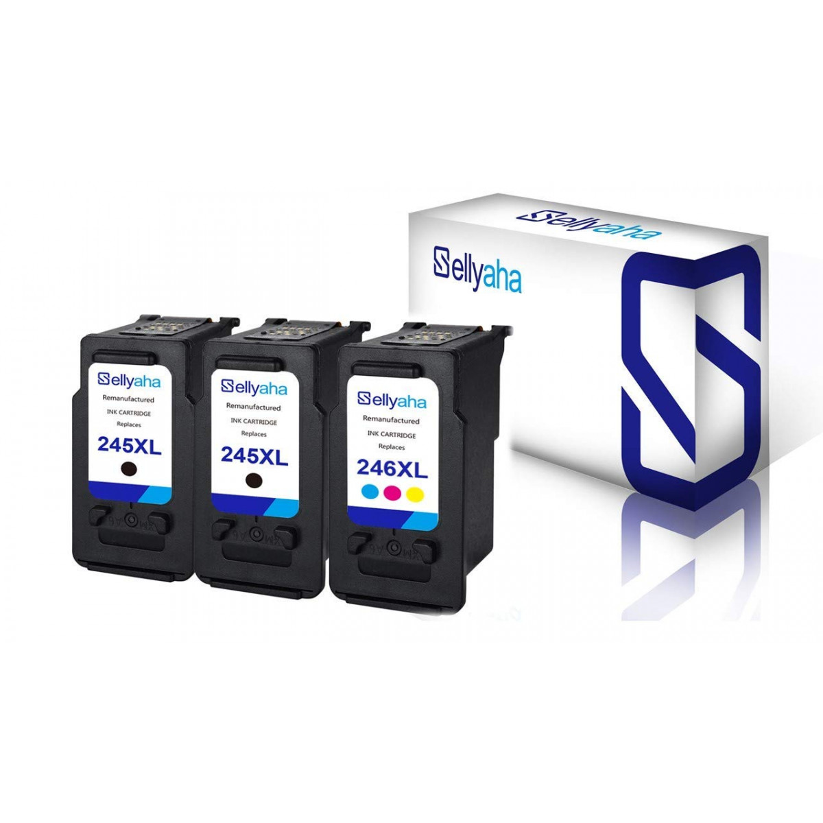 5 PG-245XL+3 CL-246XL Black Color Ink for Canon PIXMA MG2420 MG2924 MX490 MX492