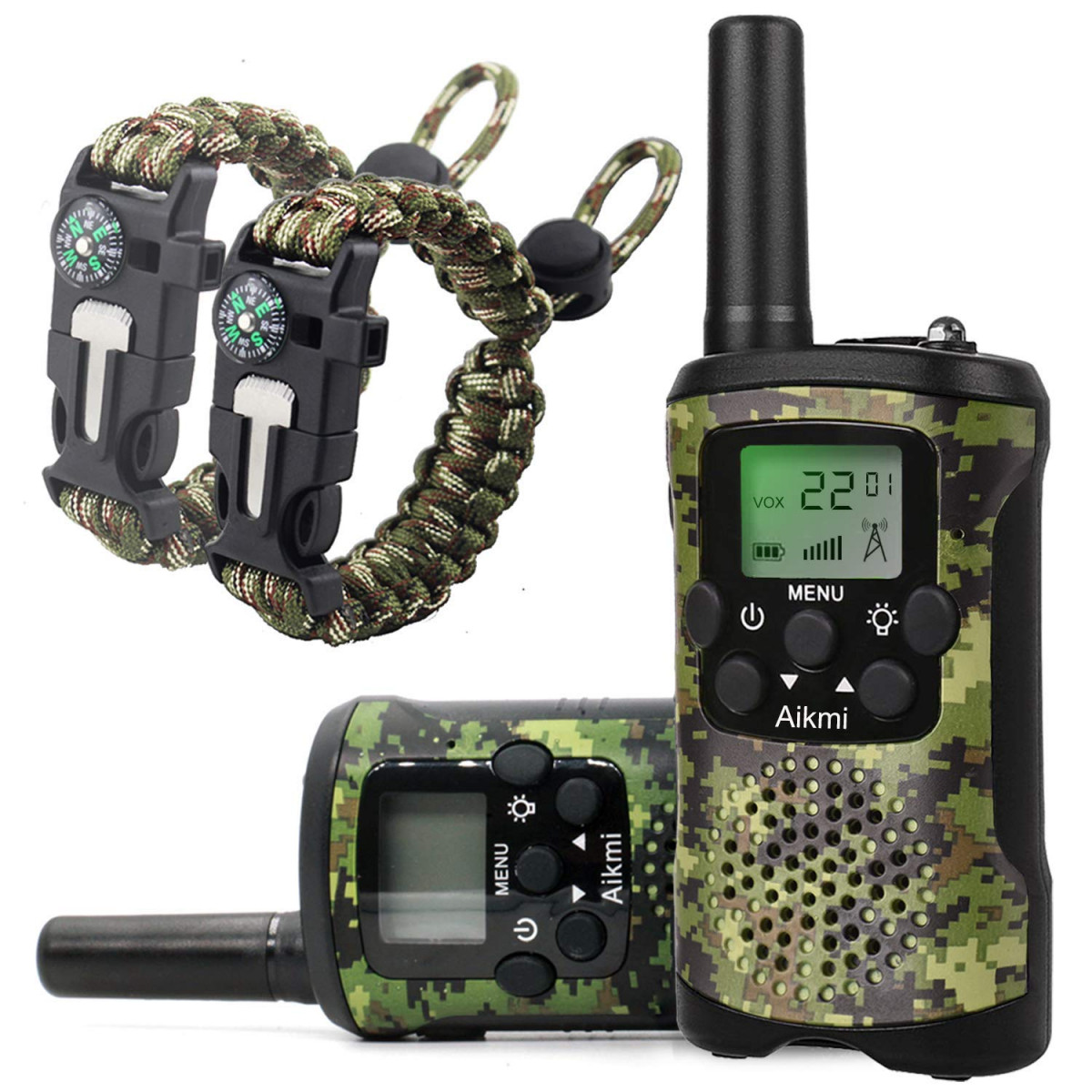 Walkie Talkies For Kids 22 Channel 2 Way Radio 3 Miles Long Range Handheld