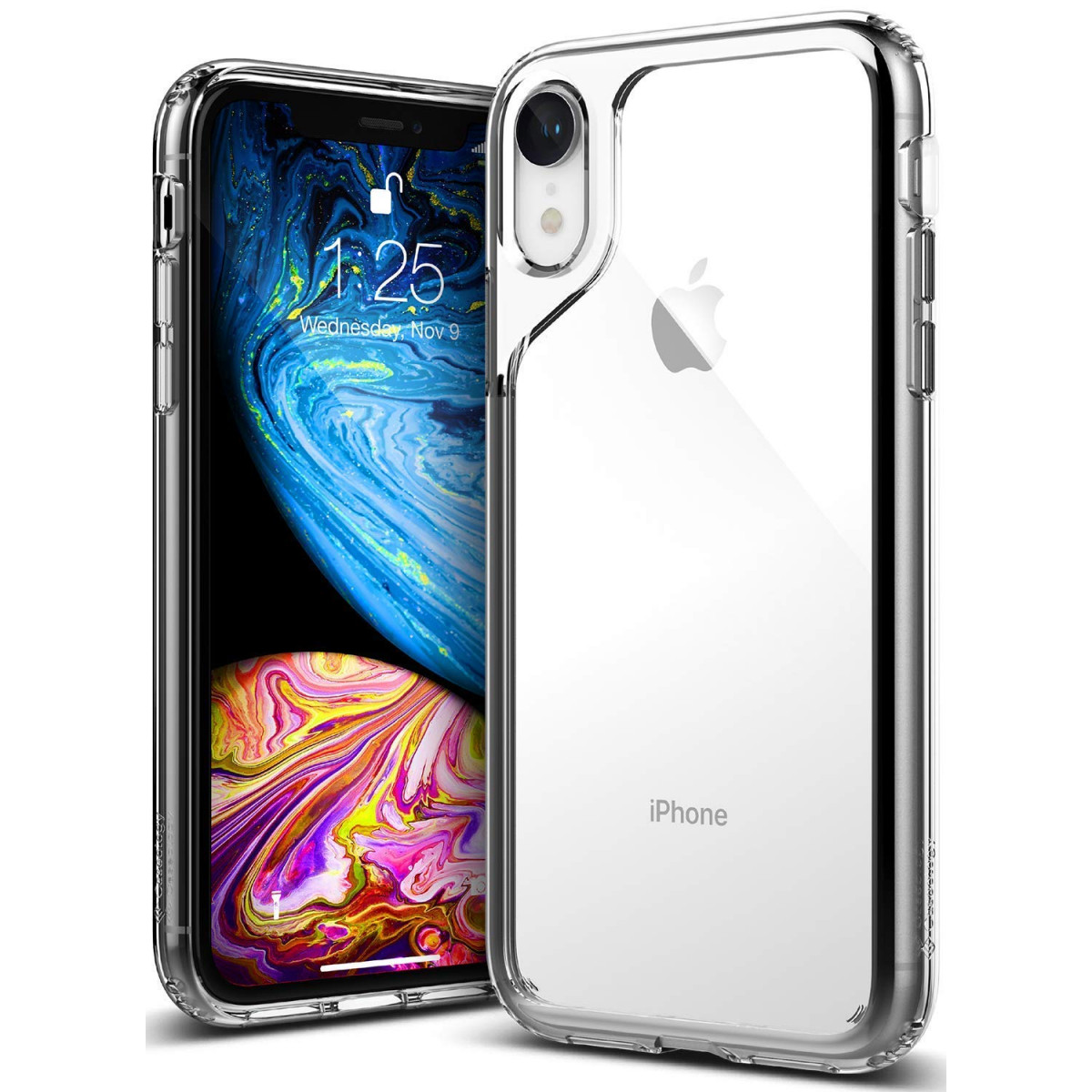 huge discount f8a5f 6175d Caseology [Waterfall Series] iPhone XR Case - [Transparent/Minimal] - Clear