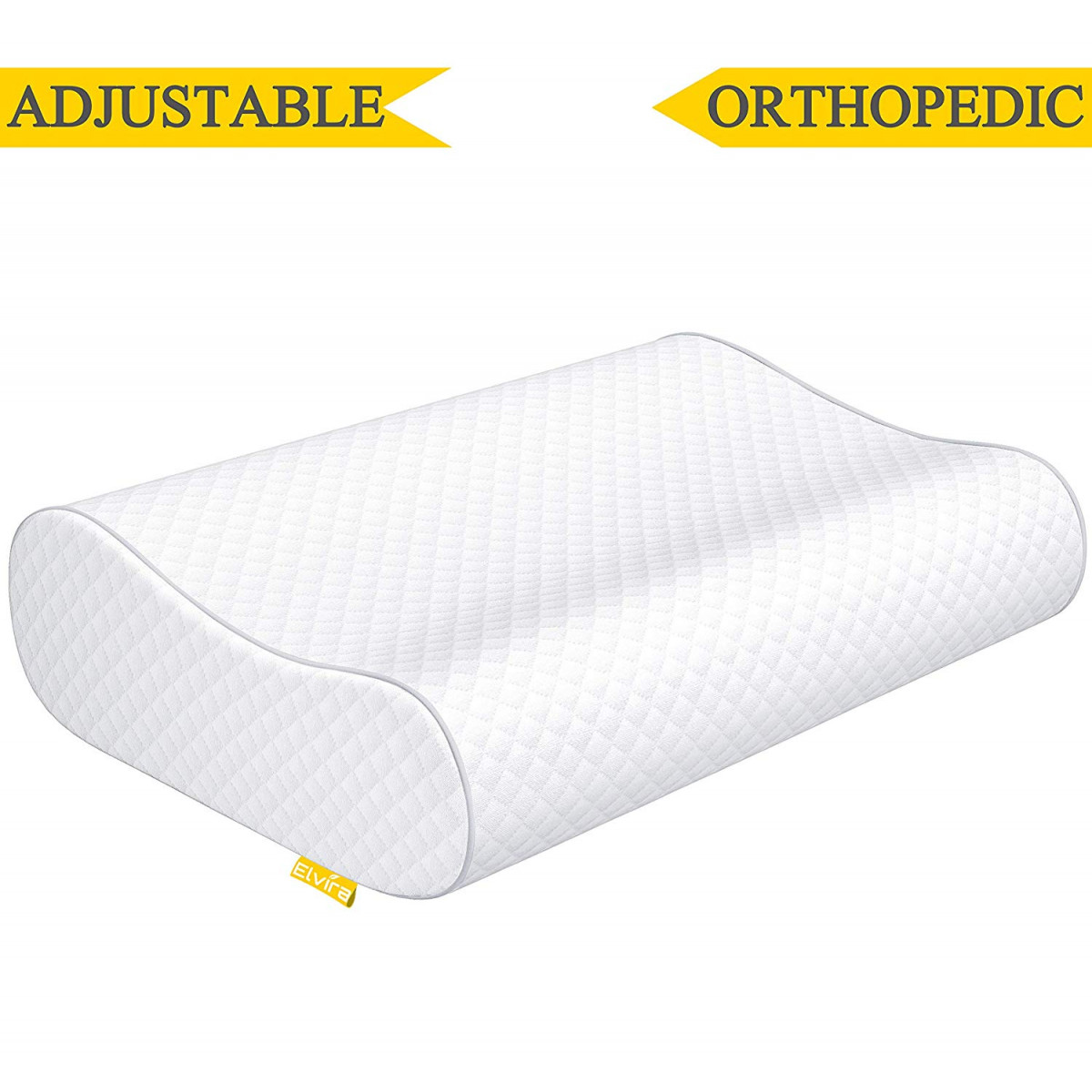 Orthopaedic Pillow Relieve Back Shoulder Head Neck Pain Non Allergenic Removable
