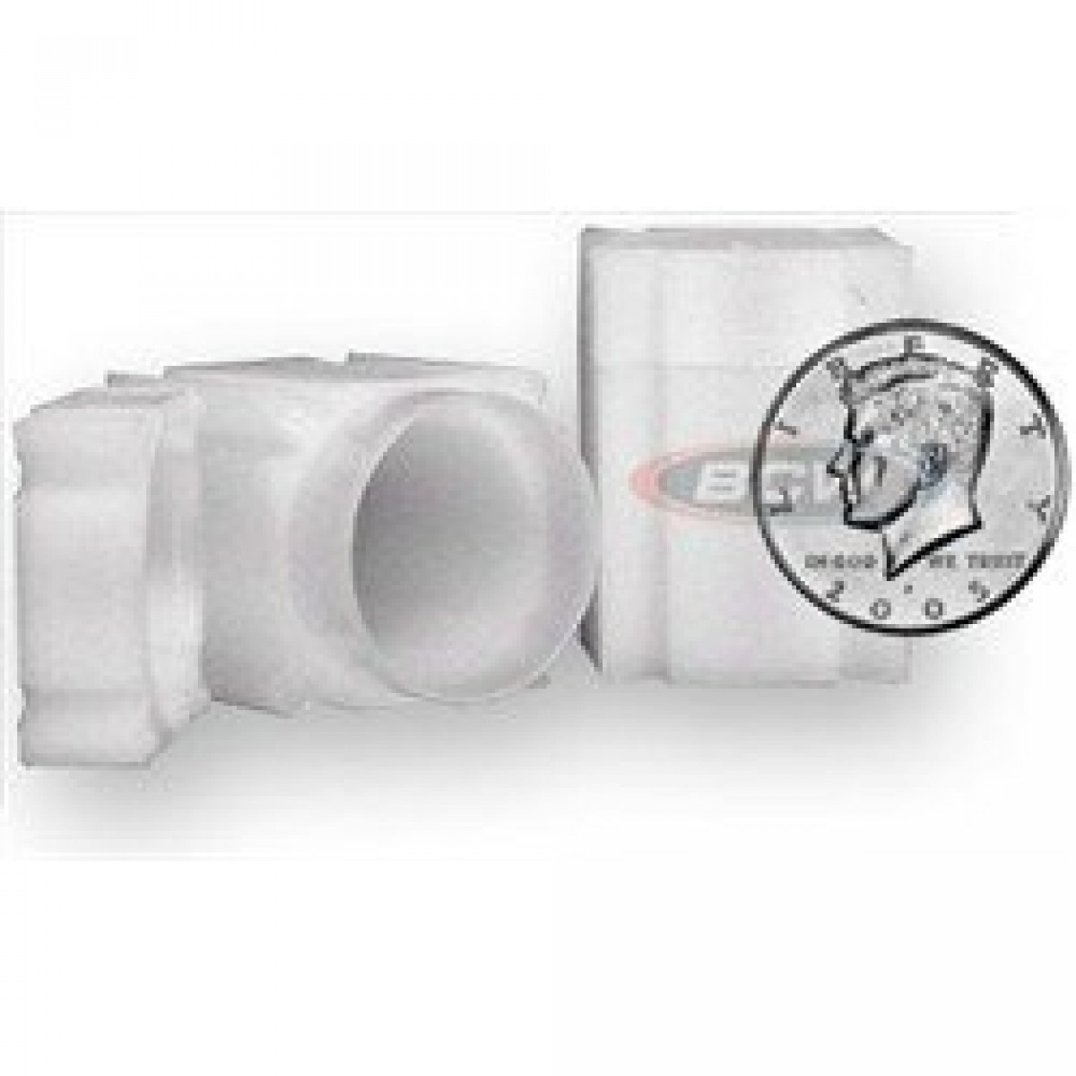 5 CoinSafe Square Nickel Tubes