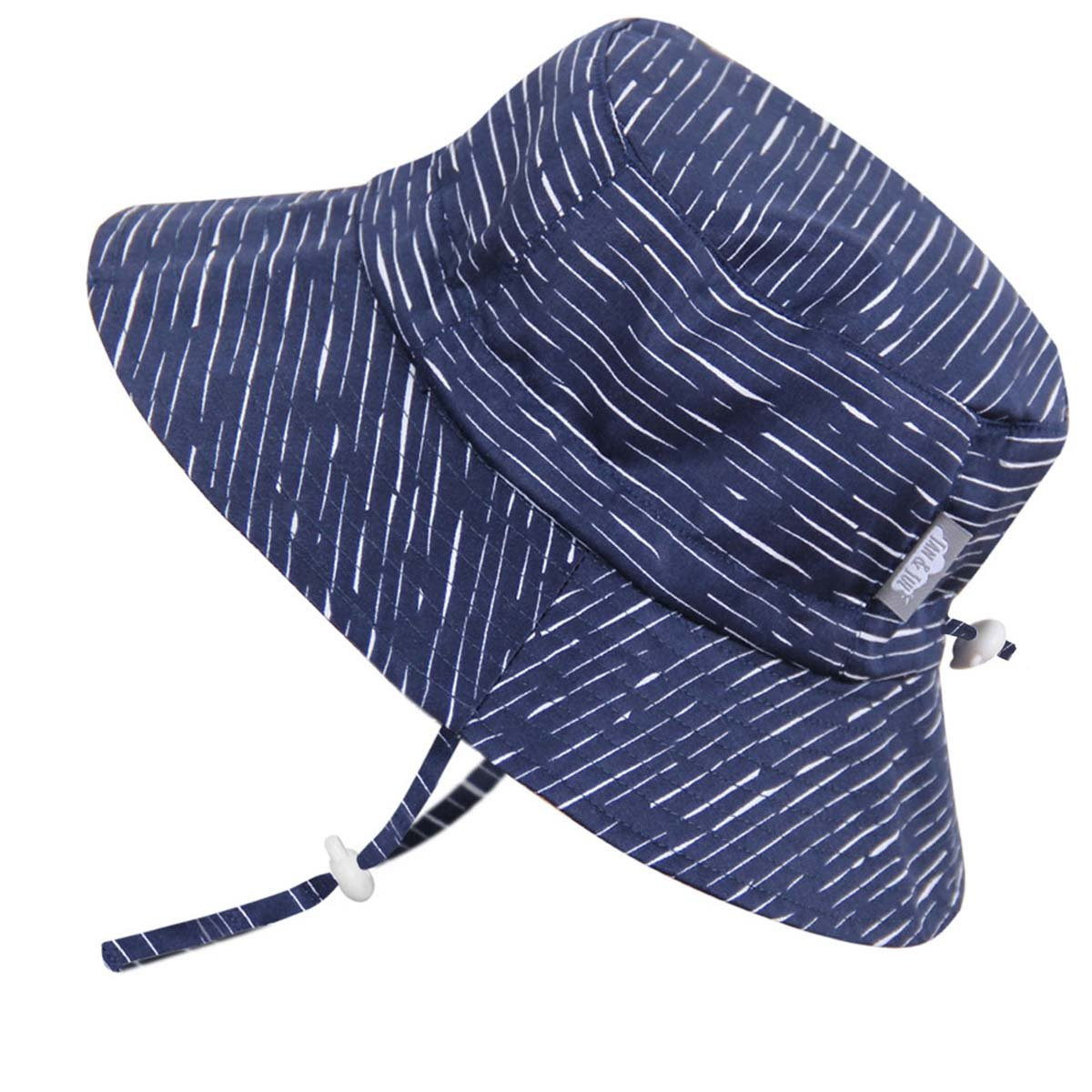 Adjustable for Grow Jan /& Jul Baby Toddler Kids Breathable Cotton Sun Hat 50 UPF Stay-on