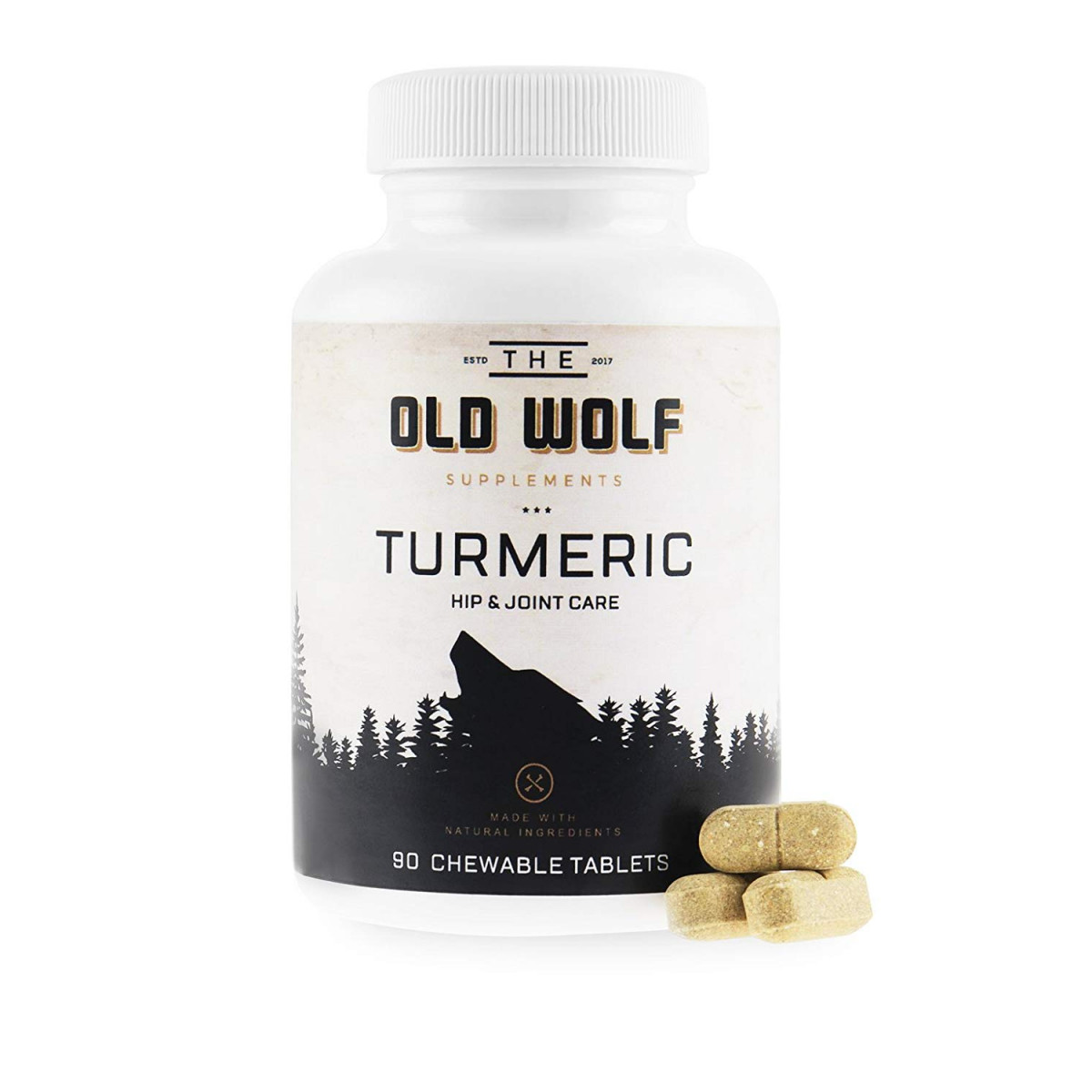 Turmeric Curcumin Joint Supplement for Dogs: Pain Relief and Anti  Inflammatory Support with Glucosamine, Chondroitin Porcine, MSM, Hyaluronic  Acid,