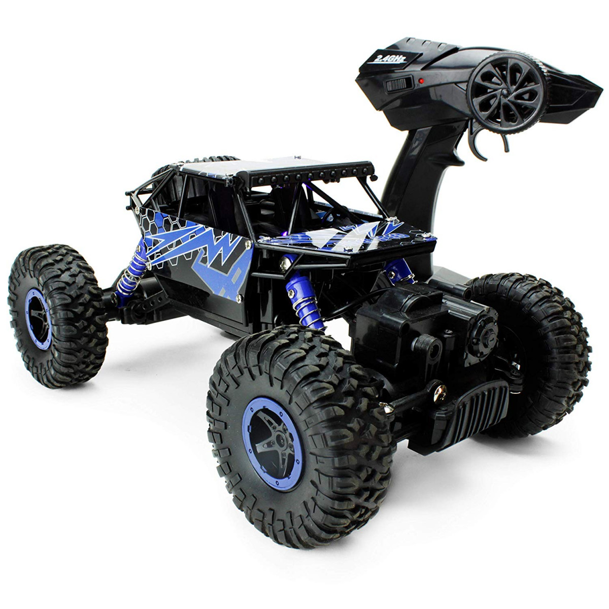 Boley 2099 - Lightning Raider - Radio Control, 4-Wheel Drive, All-Terrain  Climber - Action-Packed RC Car Toy for Boys and Girls - Durable, Easy to