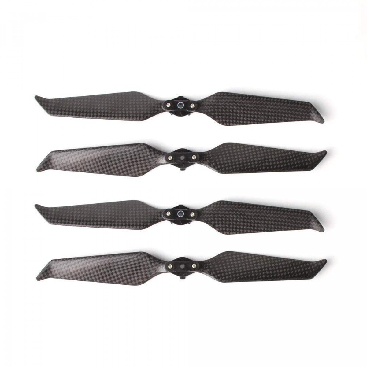 4Pcs 2 Pairs Carbon Fiber 8743F Propellers Blades Low-Noise Quick-Release  Foldable New Aerodynamic Design Compatible DJI Mavic 2 Pro/Zoom Accessories