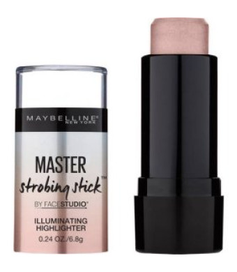 Maybelline Facestudio Master Strobing Stick Illuminating Highlighter, Medium - Nude Glow, 0.24 oz