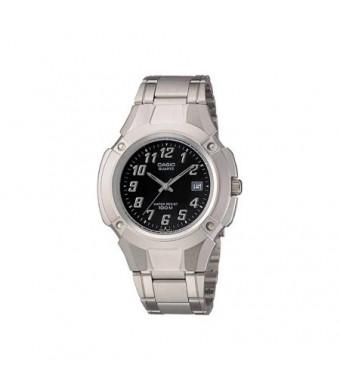 Casio Men's Analog Watch, Stainless Steel