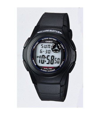 Casio Men's Digital Watch, Black - F200W-1A