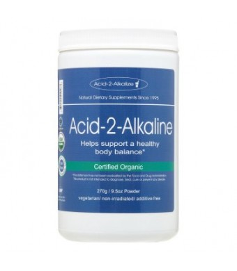 Acid-2-Alkaline 270g/ 9.5oz Powder (Organic)