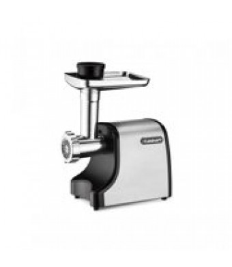 Cuisinart Electric Meat Grinder, Black Stainless