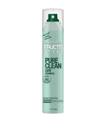 Garnier Pure Clean Dry Shampoo, 3.4 OZ