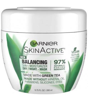 Garnier SkinActive Balancing 3-in-1 Moisturizer Day/Night Mask, 6.75 fl oz